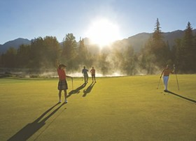 Golf in Whistler is great. Choose from 5 area championship golf courses.
