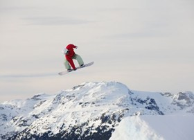 Catch some air in the Whistler Blackcomb parks. Pipes, tubs, air & more!