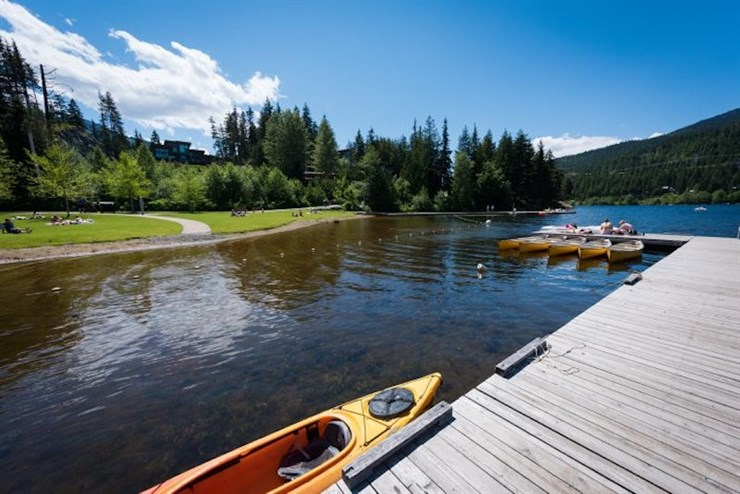 Best Lakes in Whistler