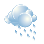 Considerable clouds with a couple of showers